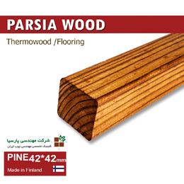 PINE 42 42 ترمووود چوب های مناسب لوور