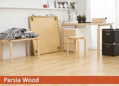 birch natur کف مهندسی شده پارکت ترموود پارکت چوبی مهندسی شده (Engineer flooring)