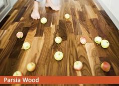 walnut country کف مهندسی شده پارکت ترموود پارکت چوبی مهندسی شده (Engineer flooring)