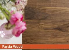 walnut select کف مهندسی شده پارکت ترموود پارکت چوبی مهندسی شده (Engineer flooring)