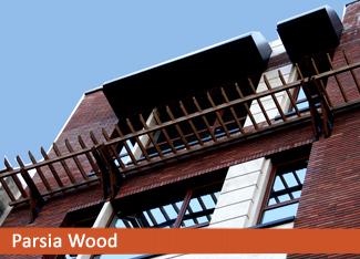 سایه بان چوبی ترمووود میرداماد سایبان چوبی (پرگولا)