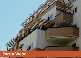 سایه بان چوبی ترمووود ولنجک سایبان چوبی (پرگولا)
