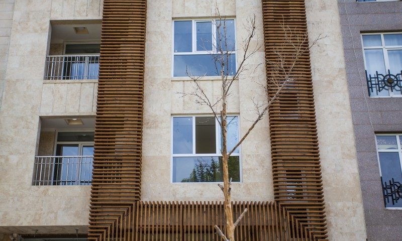 نمای ساختمان بهار