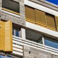 گیشا نمای چوبی ساختمان